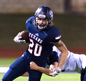 Wimberley Texans, Texas football